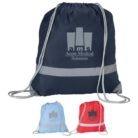 Picture of Reflective Drawstring Rucksack