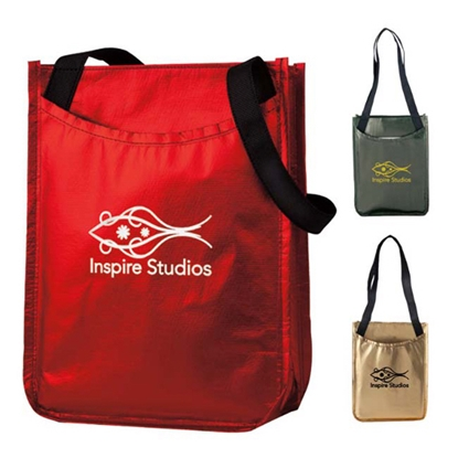Picture of Metallic Non-Woven Gift Tote