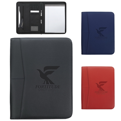 Picture of Arrow Zippered Padfolio