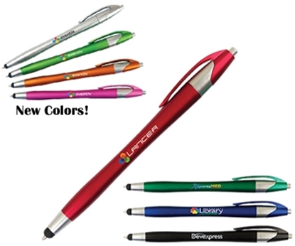 Picture of Sleek Full Color Stylus Pens
