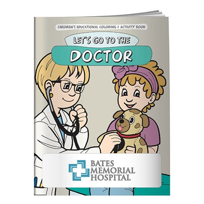 Picture of Coloring Book: Let's Go to the Doctor
