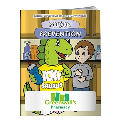 Picture of Coloring Book: The Poison Prevention Dinosaur