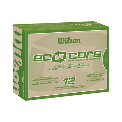 Picture of Wilson (R) Eco Core Golf Ball Std Serv