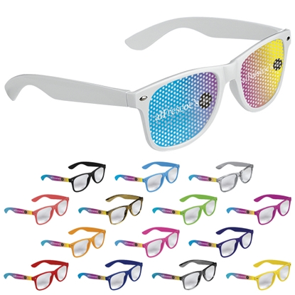 Picture of Cool Vibes Clear Lenses Glasses Full Color