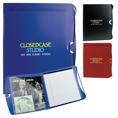 Picture of PolyPro Padfolio with Business Card & CD Holder