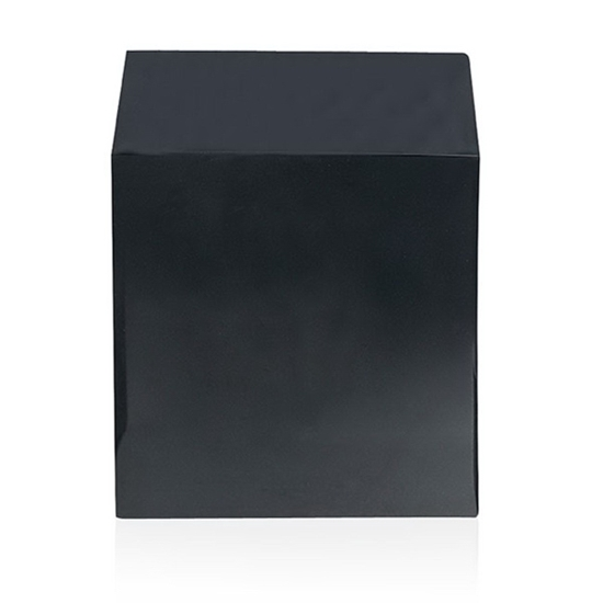 """Picture of 3"""" Black Cube Base"""