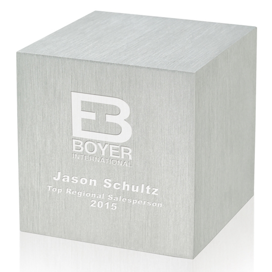 "Picture of 2.5"" Cube Aluminum Base"