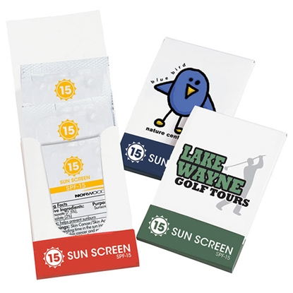 Picture of SPF-15 Sunscreen Lotion Pocket Pack