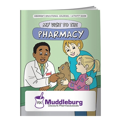 Picture of Coloring Book: My Visit to the Pharmacy