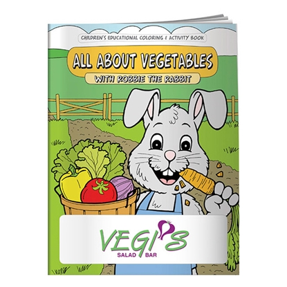 Picture of Coloring Book: All About Vegetables