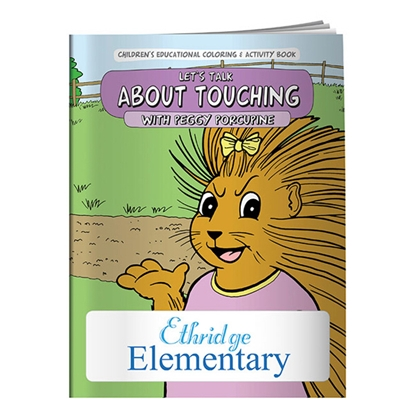 Picture of Coloring Book: Let's Talk About Touching