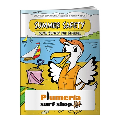 Picture of Coloring Book: Summer Safety