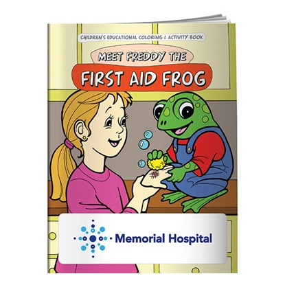 Picture of Coloring Book: First Aid Frog