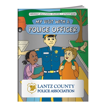 Picture of Coloring Book: My Visit with a Police Officer