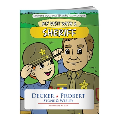 Picture of Coloring Book: My Visit with a Sheriff