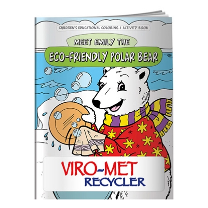 Picture of Coloring Book: Eco-Friendly Polar Bear