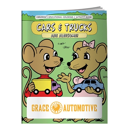 Picture of Coloring Book: Cars & Trucks