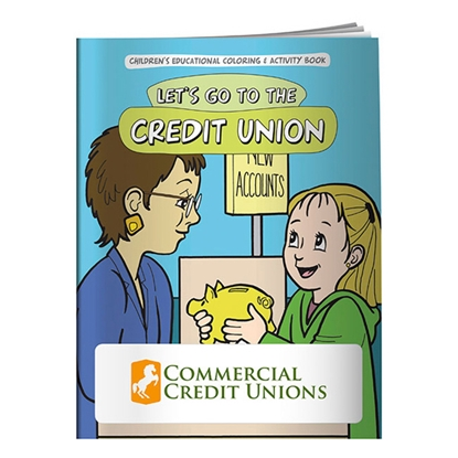 Picture of Coloring Book: Let's Go to the Credit Union