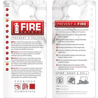 Picture of Fire Safety Hang Tag