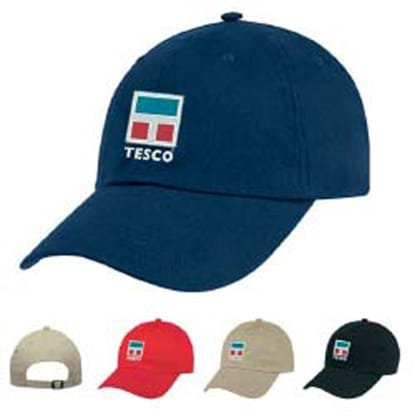 Picture of Natural Brushed Twill Cap
