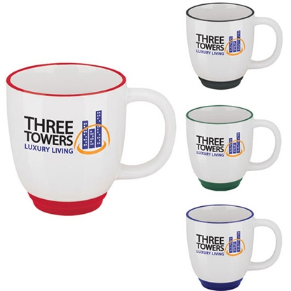 Picture of Two-Tone Bistro Mug - 14 oz