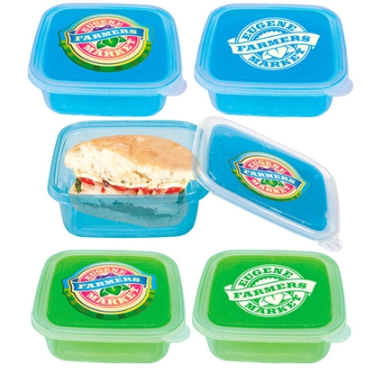 Picture of Cool Gear (TM) Freezable Gel Lid Storage Container