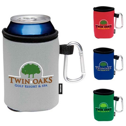 Picture of Collapsible KOOZIE (R) Can Kooler with Carabiner