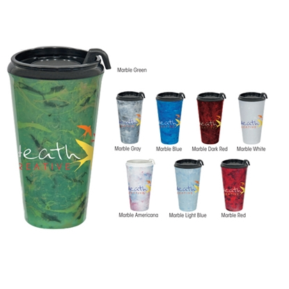 Picture of Marble Infinity Tumbler - 16 oz