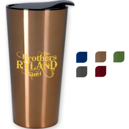 Picture of 16 oz. Fashion Metallic Tumbler
