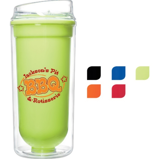 Picture of 16 oz. Double Wall Bright Tumbler