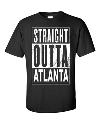 Picture of Straight Outta Atlanta T Shirt