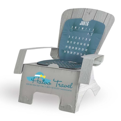 Picture of Beach Chair Die-Cut Desk