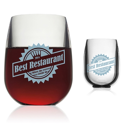 Picture of pubWARE (R) Stemless Wine Glass - 12 oz.