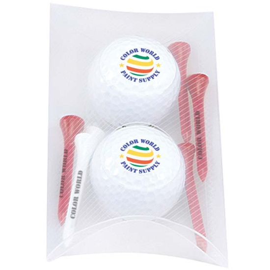 Picture of 2 Ball Pillow Pack- Titleist (R) DT(R) TruSoft