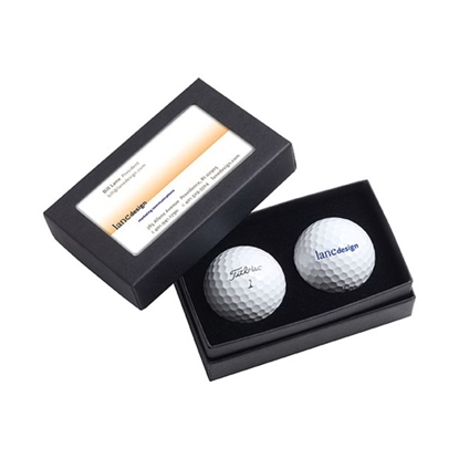 Picture of Titleist (R) 2 Ball Business Card Box - DT (R) SoLo
