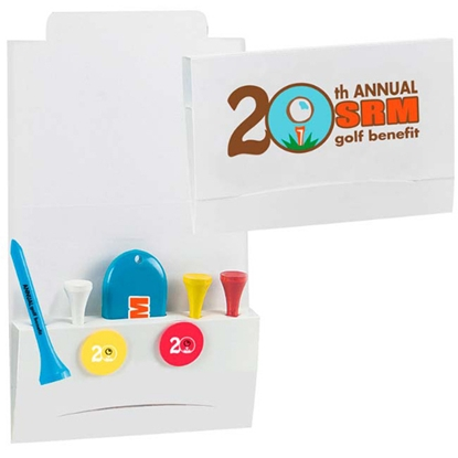 "Picture of 4-2-1 Golf Tee Packet - 2-3/4"" Tee"