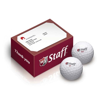 Picture of Wilson (R) 2-Ball Thank You Box