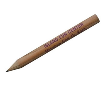 Picture of Round Natural Finish Golf Pencils