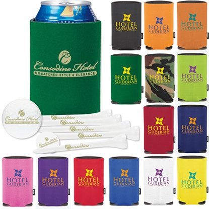 Picture of Collapsible KOOZIE (R)) Deluxe Golf Event Kit - Ultra 500