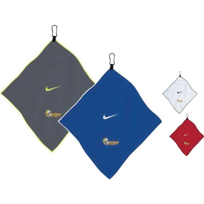 "Picture of Nike (R) 14"" x 14"" Microfiber Towel"