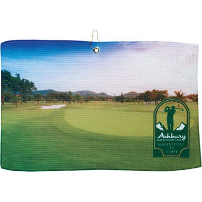 Picture of britePix (R) Golf Waffle Towel