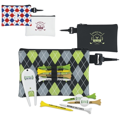 Picture of Pattern Golf Pouch Tee Kit - Value Pak