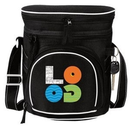 Picture of Double Compartment 12 Pack Golf Coolers
