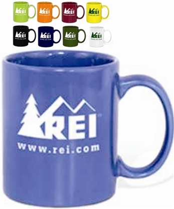 Picture of 11 Oz. Classic Colored Microwave Safe Mugs