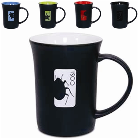 Picture of 14 Oz. Cafe Ole Matte Color Accent Mugs