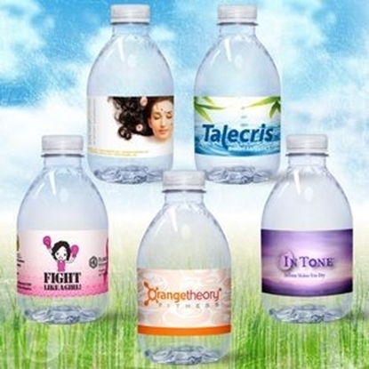 Picture of Custom Label Spring Bottled Waters - 8 oz.