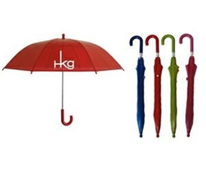 "Picture of Kid's Manual Open Umbrella with Vinyl Canopy (34"" Arc)"