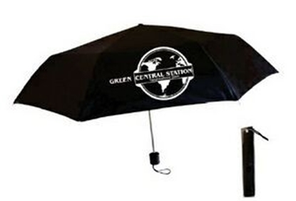 "Picture of Black Mini Folding Umbrella (42"" Arc)"
