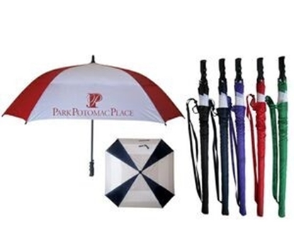 "Picture of Square 2 Tone Golf Umbrella (60"" Arc)"