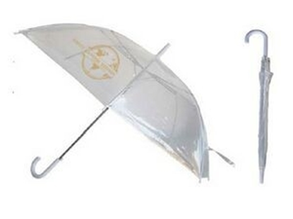 "Picture of Eco Friendly Clear Umbrella (46"" Arc)"